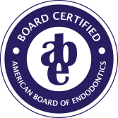 American Board of Endodontics certified seal